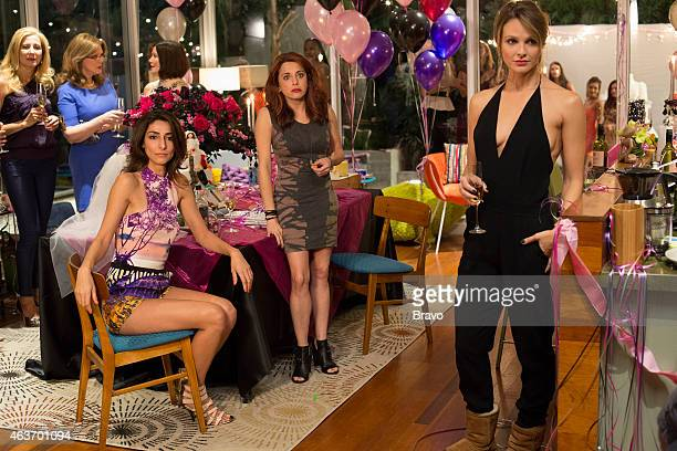 GIRLFRIENDS' GUIDE TO DIVORCE 'Rule Know When It's Time To Move On' Episode 113 Pictured Necar Zadegn as Delia Alanna Ubach as Jo Beau Garrett as...