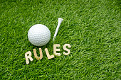 The rules of golf consist of a standard set of regulations and procedures by which the sport of golf should be played and prescribe penalties for rule infractions.