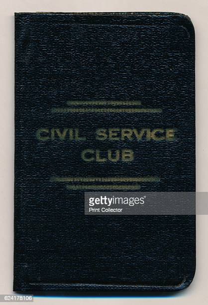 Rules of the Civil Service Club' c1953 A book containg the rules of the Civil Service Club The Civil Service Club is a London social club founded in...