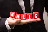 Rules cubes sign