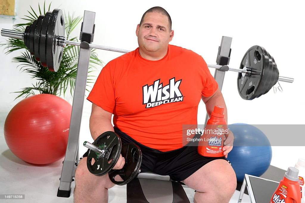 Rulon Gardner is named as Wisk Deep Clean's first Official Sweat Ambassador at Chelsea Studios on August 2 2012 in New York City