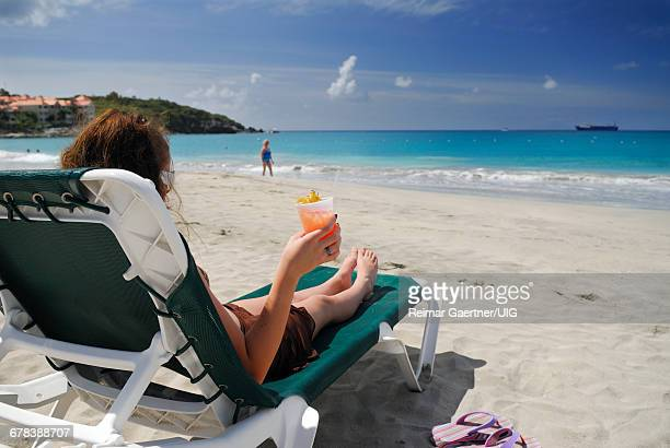 Rum Punch On Beach