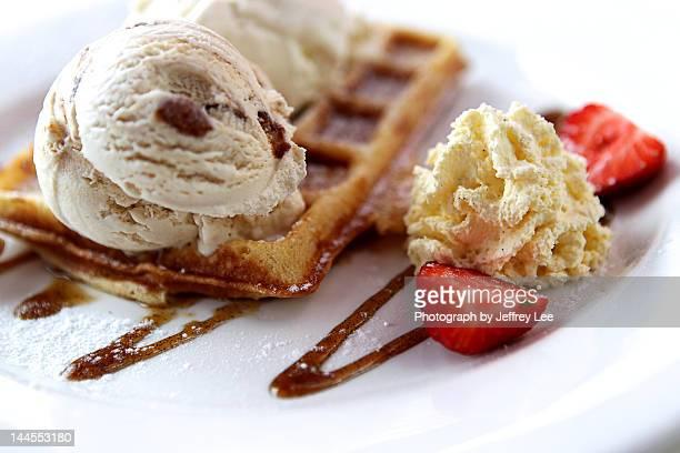Rum & Raisin Waffles