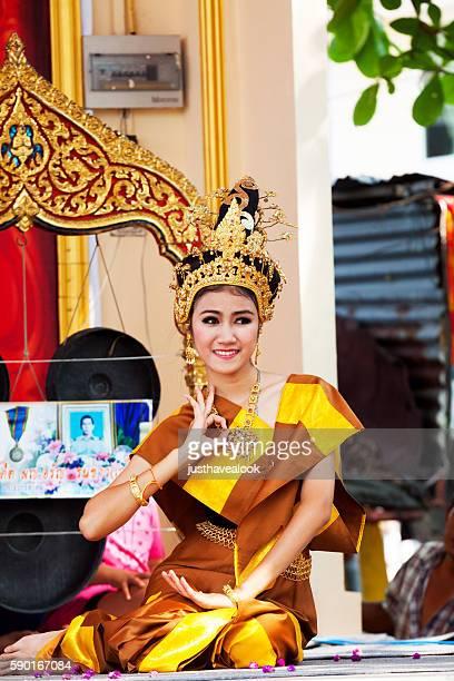 Rum thai dance posing