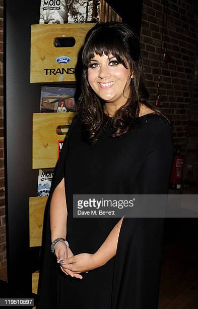 Rumer arrives at the Glenfiddich Mojo Honours List 2011 awards ceremony at The Brewery on July 21 2011 in London England