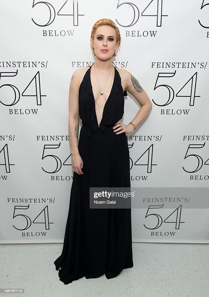 Rumer Willis attends 54 Below on November 4 2015 in New York City