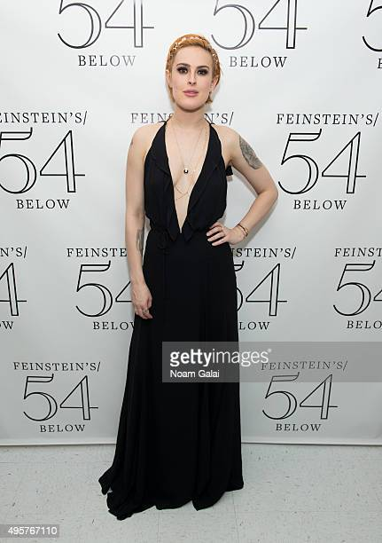 Rumer Willis attends 54 Below on November 4 2015 in New York City
