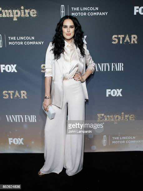 Rumer Willis attends 'Empire' and 'Star' celebrate FOX's new Wednesday night at One World Observatory on September 23 2017 in New York City