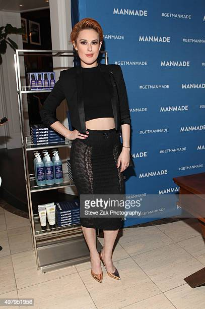 Rumer Willis attends 'MANMADE' Book PreLaunch Party at Saks Fifth Avenue on November 19 2015 in New York City