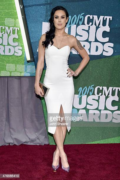 Rumer Willis attends the 2015 CMT Music awards at the Bridgestone Arena on June 10 2015 in Nashville Tennessee