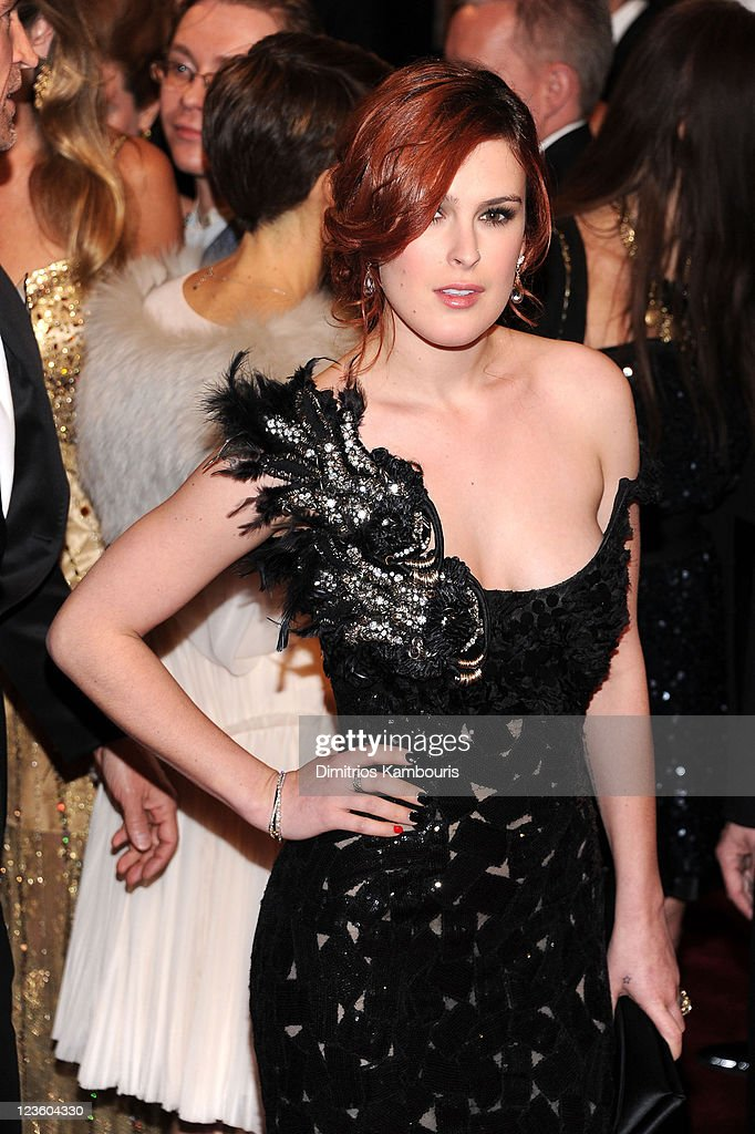 Rumer Willis attends the 'Alexander McQueen: Savage Beauty' Costume Institute Gala at The Metropolitan Museum of Art on May 2, 2011 in New York City.