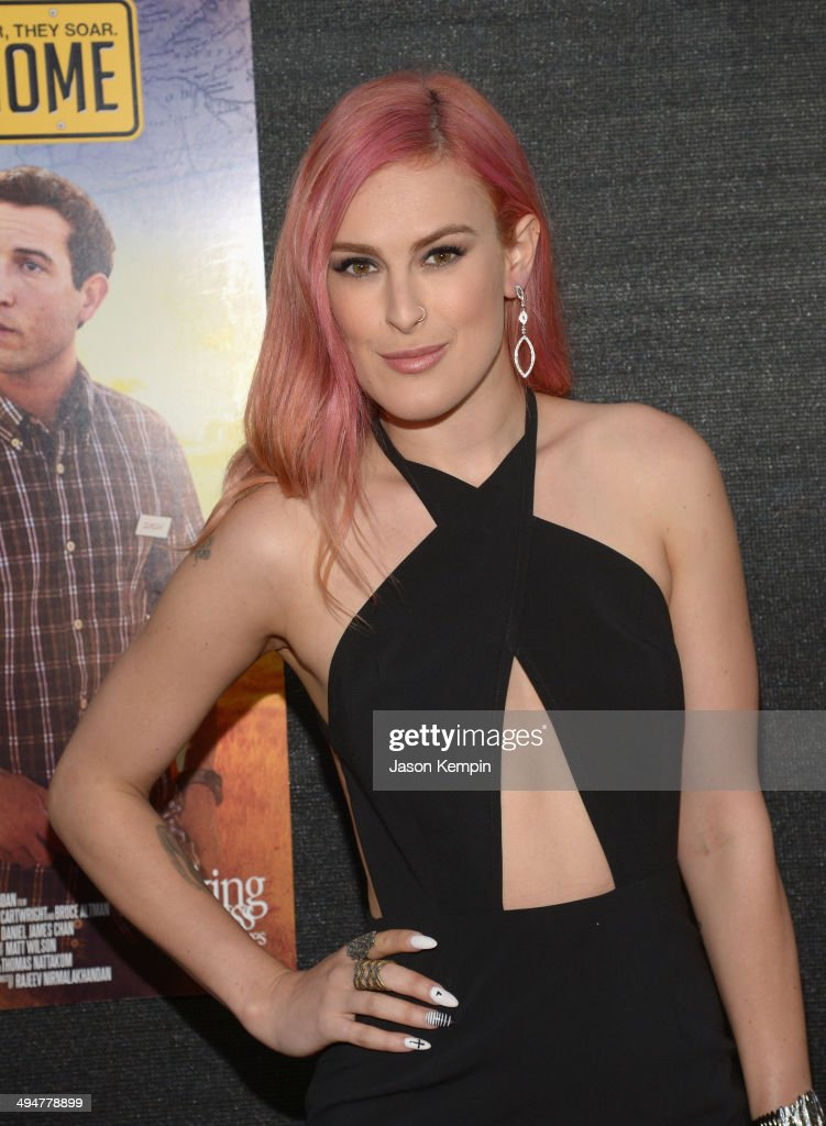 Rumer Willis attends the premiere of 'The Odd Way Home' at the Arena Cinema Hollywood on May 30 2014 in Hollywood California