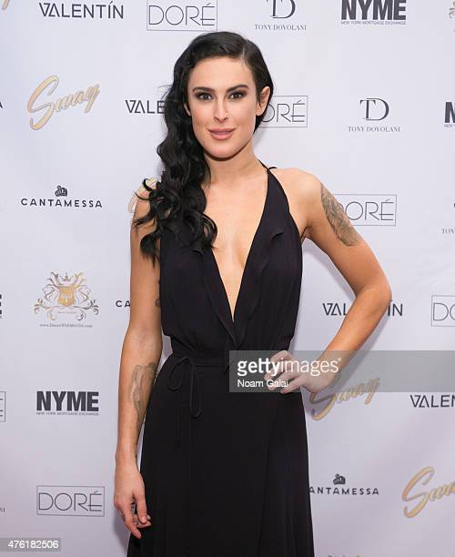 Rumer Willis attends the 'Sway' meet and greet at Hammerstein Ballroom on June 6 2015 in New York City