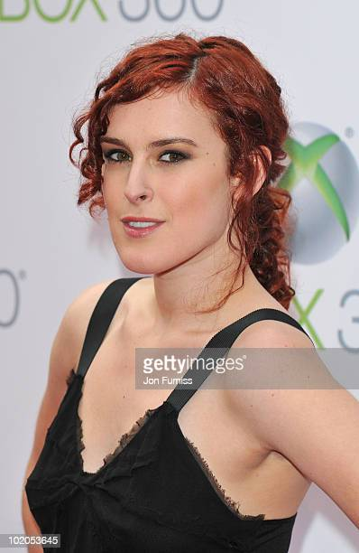 Rumer Willis attends the world premiere of Kinect for Xbox 360 in LA where Cirque du Soleil performed an exclusive show at Galen Center on June 13...