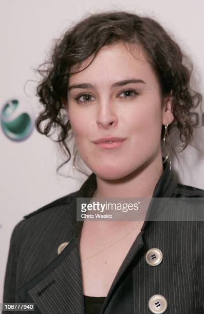 Rumer Willis during Sony Ericsson and Cingular Wireless Present The 2 B Free Fall 2006 Collection Front Row and Backstage at GM Penthouse at the...