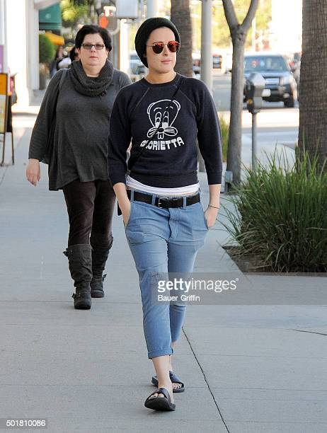 Rumer Willis is seen on December 17 2015 in Los Angeles California