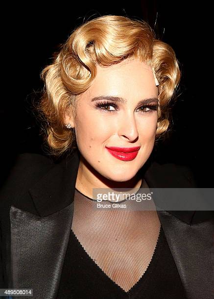 Rumer Willis makes her broadway debut as 'Roxie Hart' in Broadway's 'Chicago' on Broadway at The Ambassador Theater on September 21 2015 in New York...