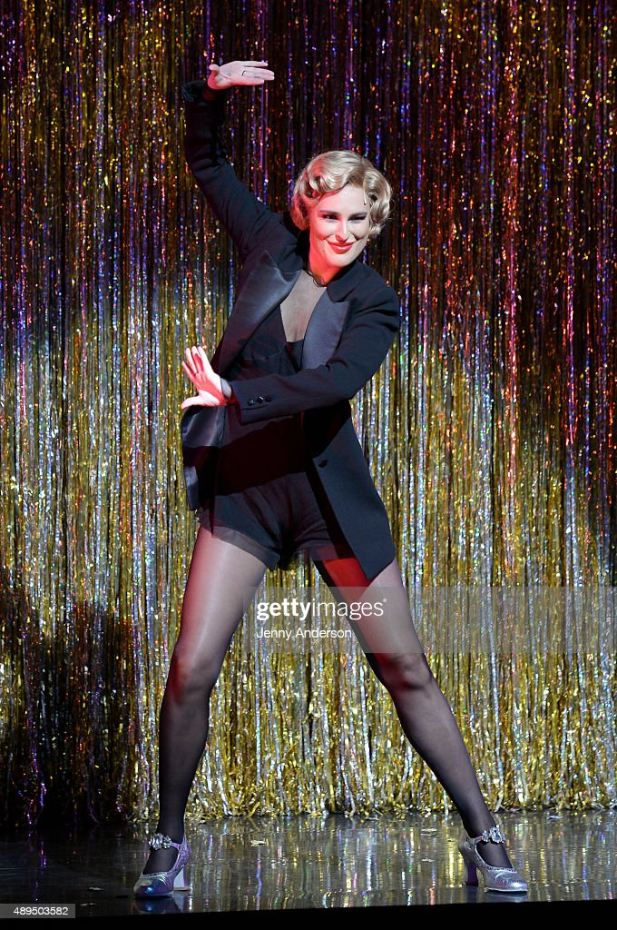 Rumer Willis makes her Broadway debut as Roxie Hart in 'Chicago' at Ambassador Theater on September 21 2015 in New York City