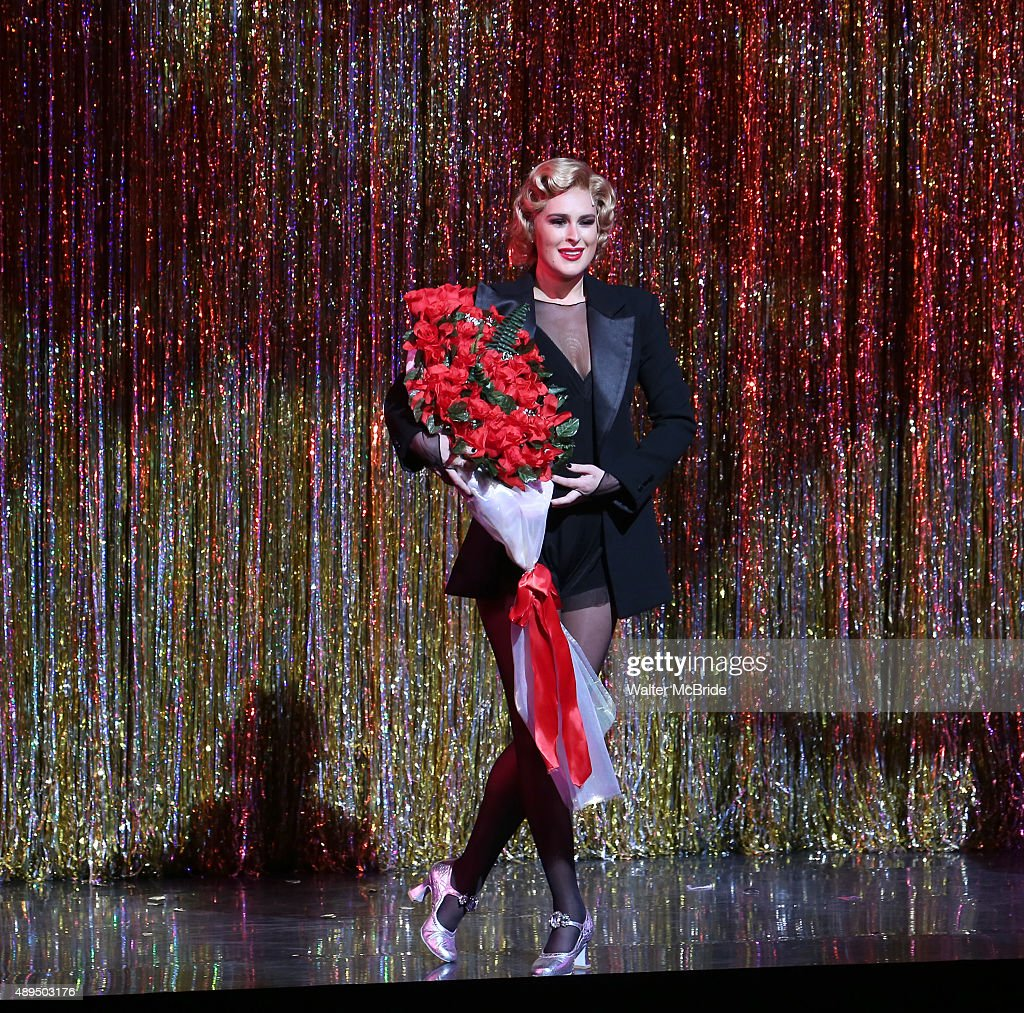 Rumer Willis making her Broadway debut as Roxie Hart in 'Chicago' at the Ambassador Theatre on September 21 2015 in New York City