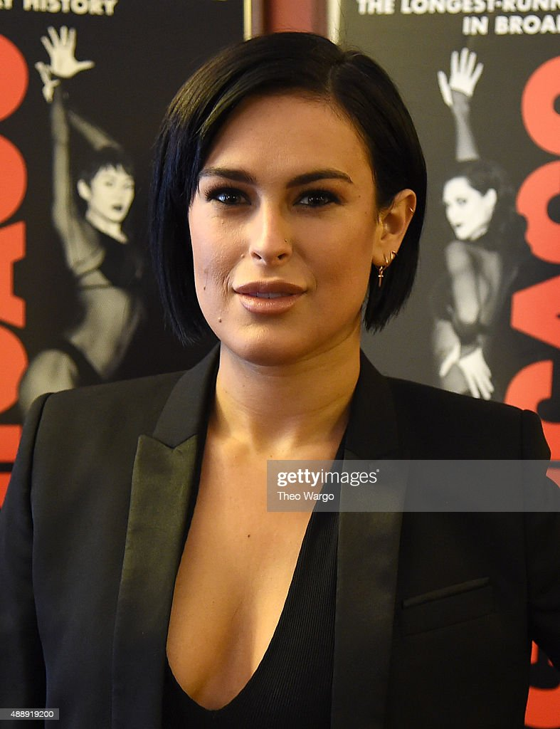 "Rumer Willis Promotes Her Upcoming Role On Broadway's ""Chicago"""