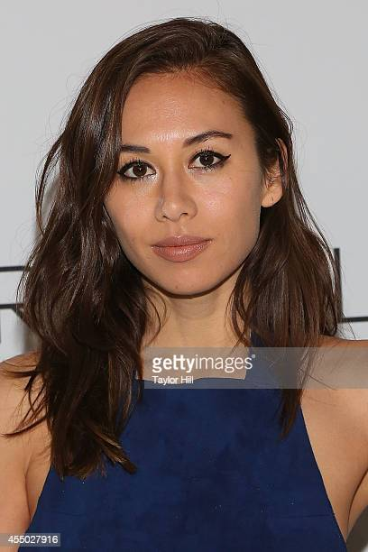 Rumi Neely attends the REVEAL Calvin Klein Fragrance Launch Party at 4 World Trade Center on September 8 2014 in New York City
