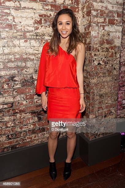 Rumi Neely attends the REVOLVE relaunch party on February 11 2014 in New York City