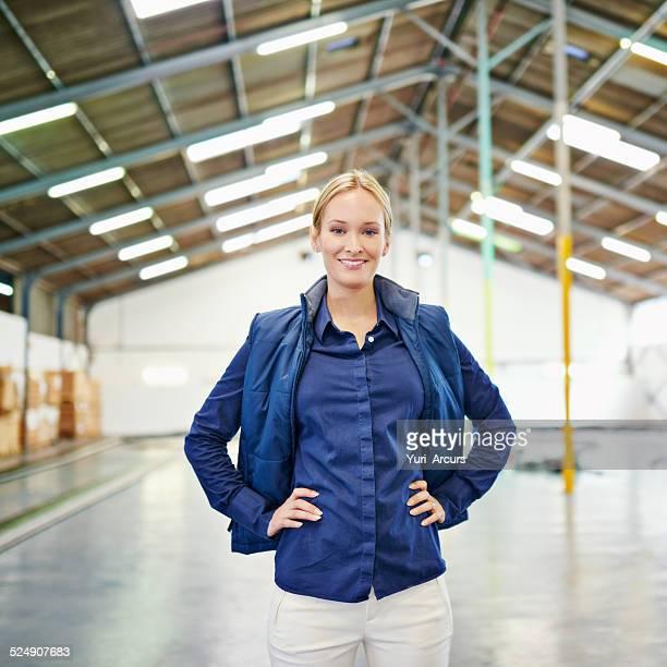 I run one organized warehouse