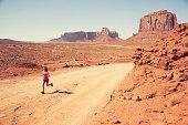 Run Through Monument Valley