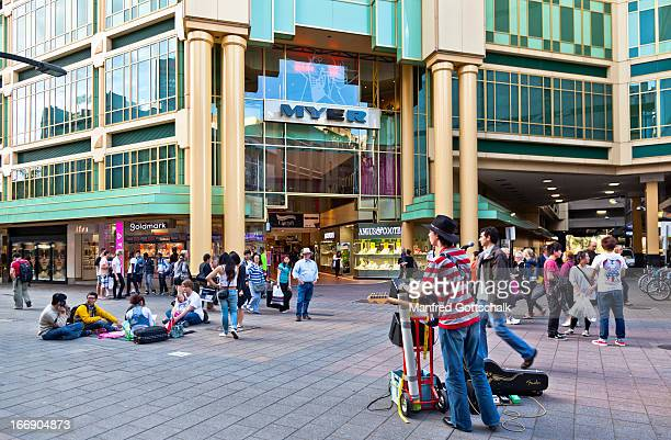 Rundle Mall street busker