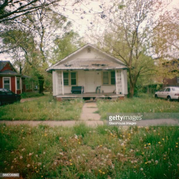 Rundown Home, Lawrence, Kansas, USA