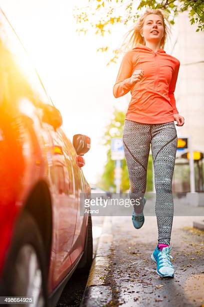 Runner girl.