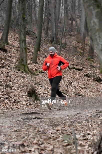 Runner in nature