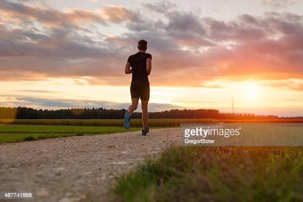 Runner in the park