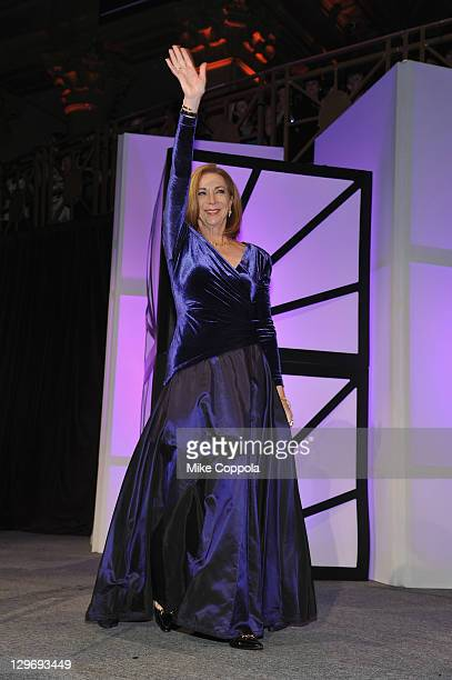 Runner Kathrine Switzer attends the 32nd Annual Salute To Women In Sports Gala at Cipriani Wall Street on October 19 2011 in New York City