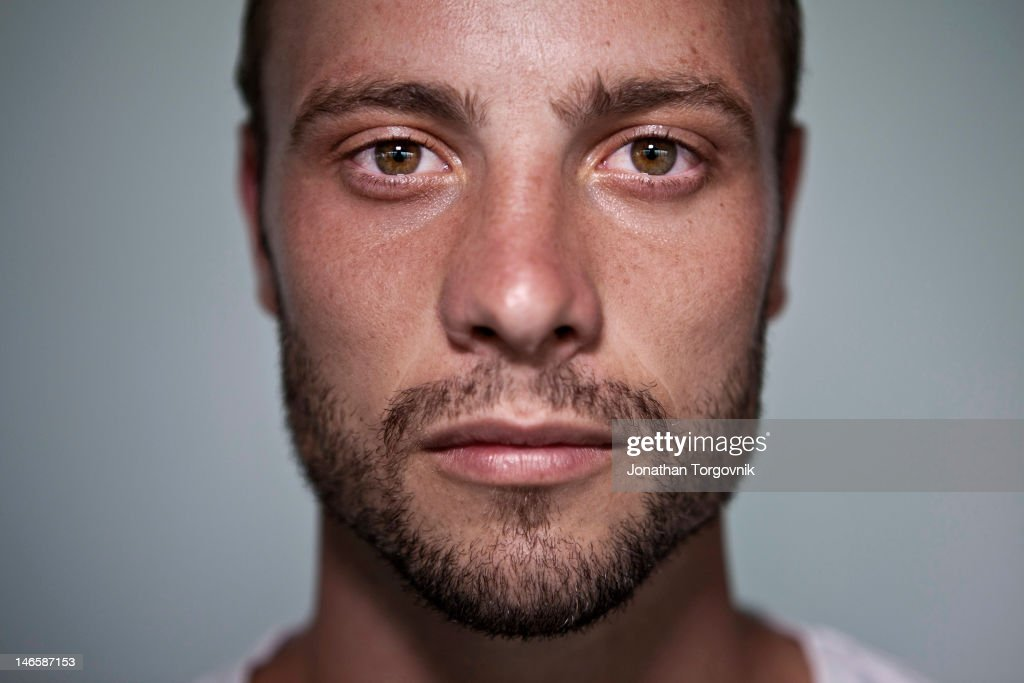 Runner <a gi-track='captionPersonalityLinkClicked' href=/galleries/search?phrase=Oscar+Pistorius&family=editorial&specificpeople=224406 ng-click='$event.stopPropagation()'>Oscar Pistorius</a> is photographed for Men's Health Magazine on February 21, 2012 in Pretoria, South Africa.