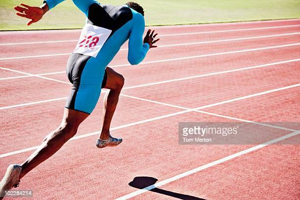 Course sprint sur piste
