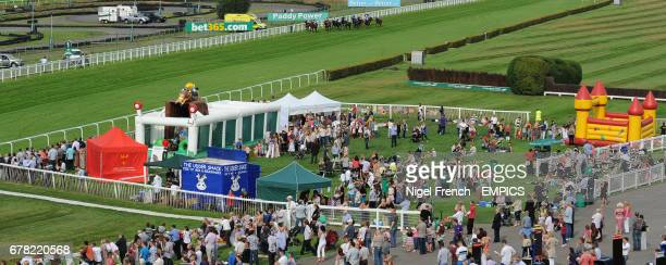 Runners and riders in The Piper Heidsieck Champagne Handicap Stakes on Family Fun Day