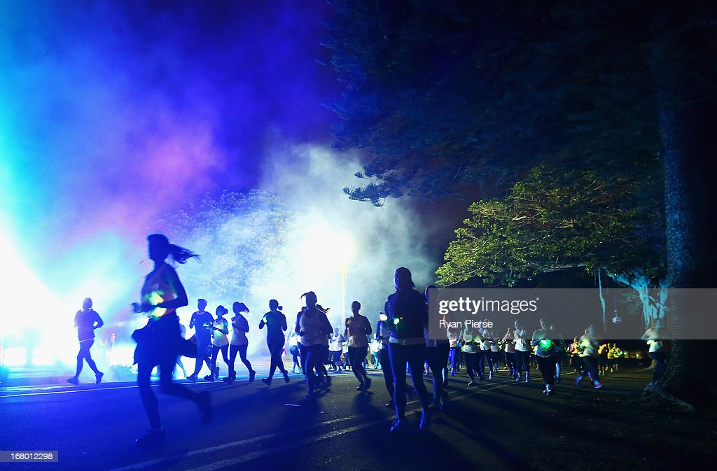 Runners compete during Nike She Runs 10k at Centennial Park on May 4, 2013 in Sydney, Australia.