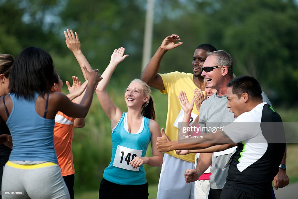 Runners : Stock Photo