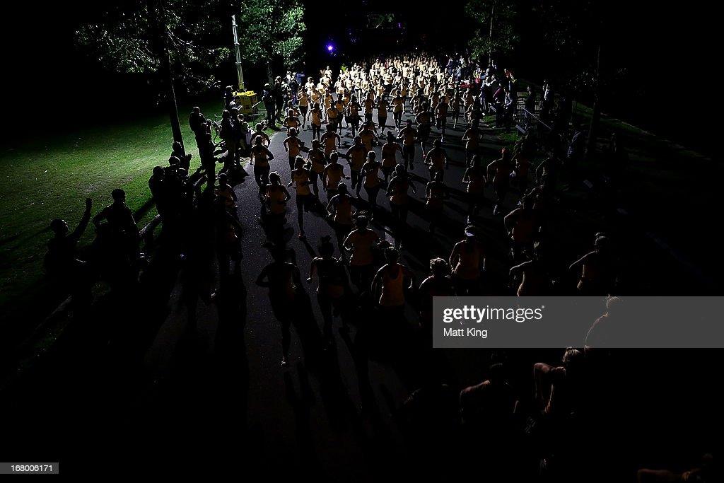 Runners start the race during Nike She Runs 10k at Centennial Park on May 4, 2013 in Sydney, Australia.
