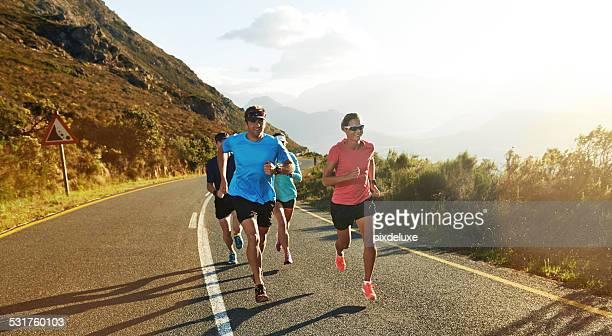 Runners understand each other