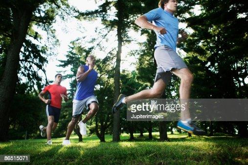 Running adults : Stock Photo