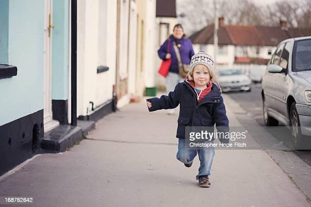 Running ahead of Grandma