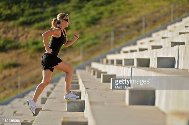 Running at a Stadium
