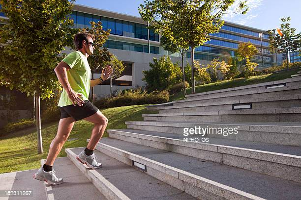 Running at city