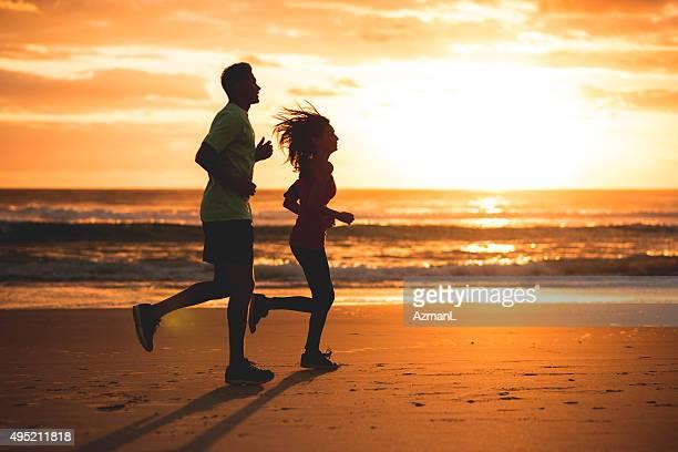 Running at Sunrise