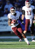Running back Cyrus Gray of the Texas AM Aggies rushes up field against the Kansas State Wildcats during the first half on November 12 2011 at Bill...