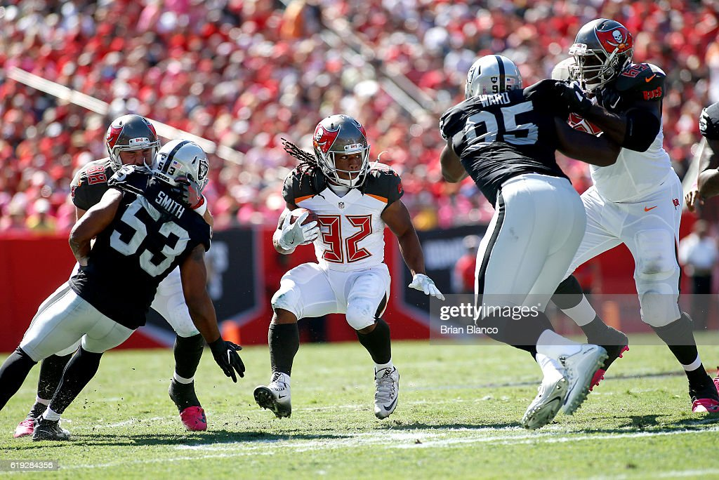 Oakland Raiders v Tampa Bay Buccaneers