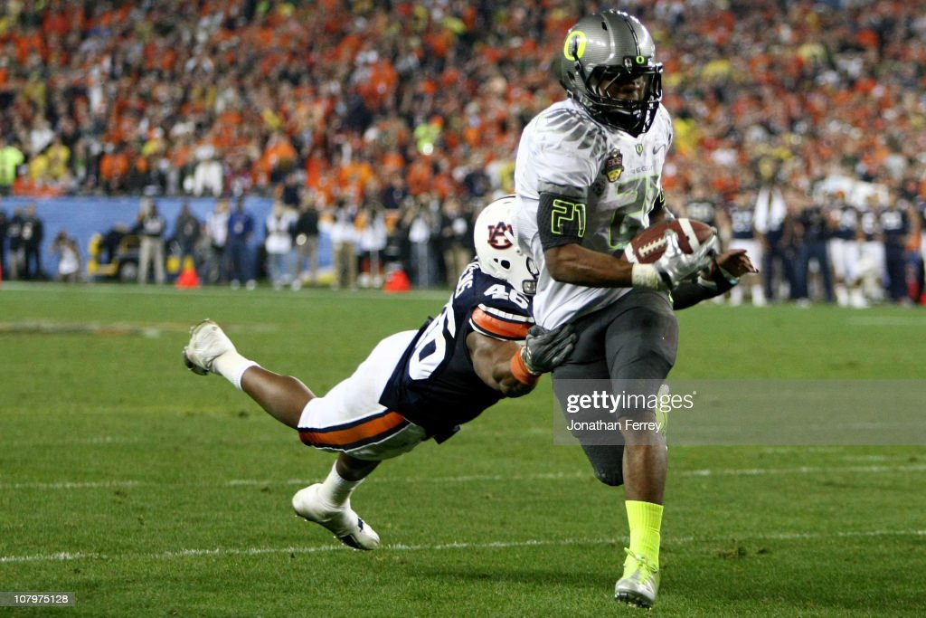 Tostitos BCS National Championship Game - Oregon v Auburn