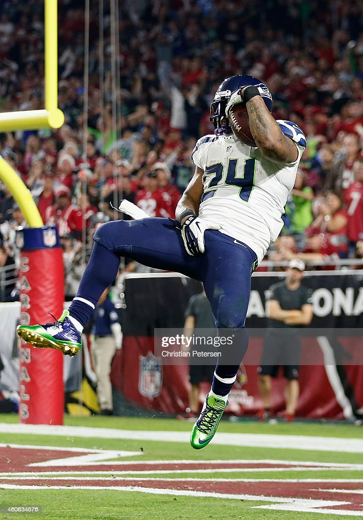 Quarterback russell wilson 3 of the seattle seahawks celebrates with
